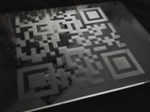 Glass QR Code