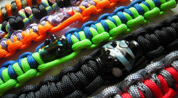 NEW Pirate Jewel – Survival Paracord Bracelets – Available NOW at Buy Happy Glass!