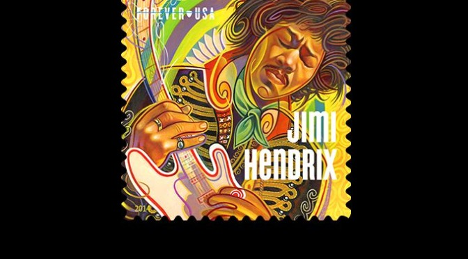 I just got some JIMI HENDRIX Stamps – and I don't use stamps… :-)